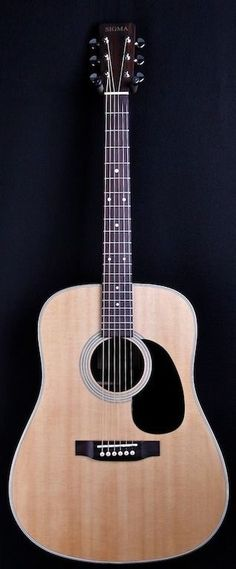 Sigma Model SD28 Solid Spruce top Dreadnought acoustic guitar w/Rosewood. B & S  #Sigma #ACOUSTIC