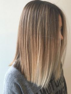 25 Alluring Straight Hairstyles for 2018 (Short, Medium & Long Hair . 25 Alluring Straight Hairstyles for 2018 (Short, Medium & Long Hair . Balayage Straight, Blonde Balayage, Blonde Straight Hair, Balayage Hair Blonde Medium, Brown To Blonde Ombre, Short Ombre, Short Brown Hair With Blonde Highlights, Long Bob Balayage, Blonde Ends