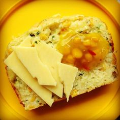 zucchini, corn & cheddar loaf - my lovely little lunch box Baby Food Recipes, New Recipes, Cooking Recipes, Bread Recipes, Toddler Meals, Kids Meals, Toddler Food, Toddler Recipes, Baking Bread At Home