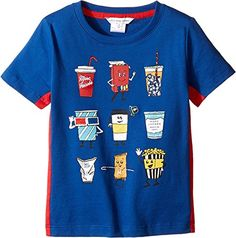 Little Marc Jacobs Baby Boys Movie Or Animation Prints Short Sleeve Tee Shirt ToddlerLittle Kids Cobalt TShirt >>> To view further for this item, visit the image link.Note:It is affiliate link to Amazon.