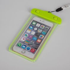 Colorful Waterproof Underwater Pouch Bag Pack Case For Cell Phone For iPhone 5/6/S/Plus Samsung Galaxy Note Free Shipping