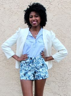 Large Pins and Needles(Urban Outfitters) Cream Blazer · HerStory Clothing · Online Store Powered by Storenvy