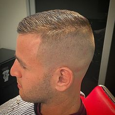 0 high fade undercut combover