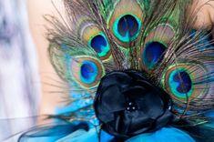 Vestido de bruja. Top ganchillo con pavo real plumas de   Etsy
