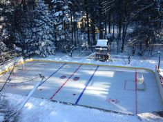 See This Quebecer's Backyard Hockey Rink? Well, It's About To Blow Your Mind… Trust Us | MTL Blog