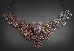 Awesome wire work! necklace