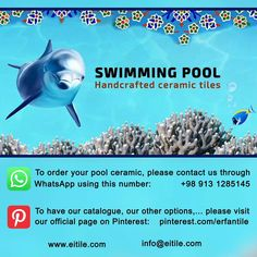 #Ceramic_tiles_for_swimming_pools Swimming Pool Architecture, Swimming Pool Tiles, Iranian Art, Water Sports, Persian, Ceramics, Ceramica, Pottery, Persian People