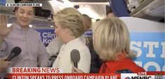 Hillary Walks Out on Press Conference When Asked about Undercover Fraud Videos