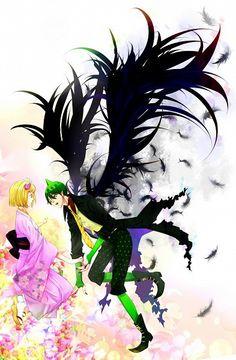 Image de moriyama shiemi, ao no exorcist, and amaimon