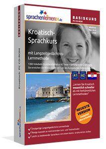 Kroatisch lernen Lernen Sie Kroatisch wesentlich schneller als mit herkömmlichen Lernmethoden – und das bei nur ca. 17 Minuten Lernzeit am Tag