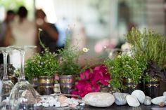 Boho-inspired Ibiza beach wedding flowers