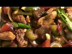 ▶ NO BATTER HAKKA CHILLI CHICKEN - 15 Min RECIPE - HEALTHY OPTION - INDIAN STYLE CHINESE - YouTube