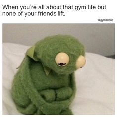 When you're all about that gym life But none of your friends lift. More motivation: https://www.gymaholic.co #fitness #motivation #gymaholic
