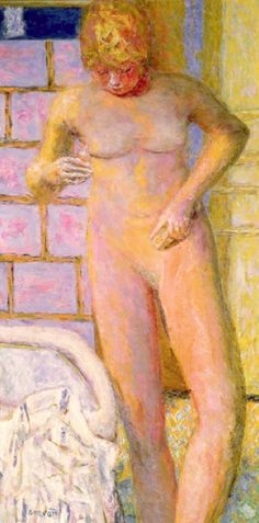 Standing Nude - Pierre Bonnard
