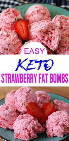 Easy NO bake keto recipe for the best low carb fat bombs. 5 ingredient cream cheese keto fat bombs that are sweet & savory. Sweet treats for keto snack - grab & Cream Cheese Fat Bombs, Cream Cheese Recipes, Cream Cheeses, Desserts Keto, Keto Snacks, Snacks Recipes, Pork Recipes, Dessert Recipes, Healthy Sweet Snacks