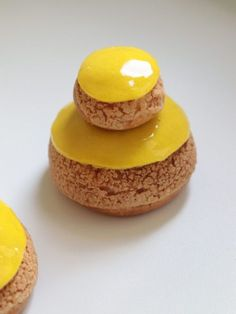 Lemon Nun – Olivia Pâtisse Recipe – Famous Last Words Patisserie Paris, Patisserie Design, French Patisserie, Health Desserts, Just Desserts, Dessert Recipes, French Pastries Names, Chocolate And Vanilla Cake, Eclair Recipe