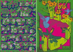 Virtual works of Homa Delvaray, 2009, poster design; Hope for future, 2008, poster design
