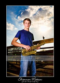 Luke is a senior from Hebron High School!! I LOVE seniors in band!! I love proving to them that they can have cool senior portraits with th...