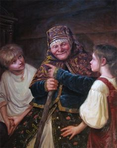 """""""Old Wives' Tales"""" - by Andrey Shishkin,  (Russian)"""