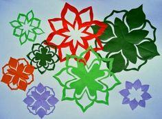 チョキチョキ(切り紙) - 花々楽しい日