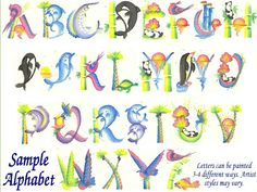 Oriental Names, Chinese Letters, Chinese Writing, Letter Brush Art Alphabet