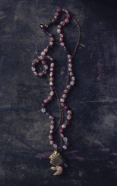 Gold fish necklace pendant,Koi Fish necklace,vintage goldfish…boho jewelry bobo…