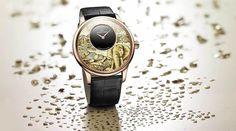 Jaquet Droz Mozaik Fil Kadranlı Saati