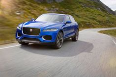 Jaguar CX-17 Concept I usually dont like when cars go into categories they dont belong in (Porsche Cayenne,  Ferrari FF) but i love the way this looks. Completely Jag but yet completely SUV. Hope this comes out soon, and Jaguar shows that it can excel in all categories.