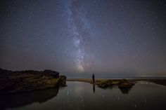 Milkyway at Whitsand Bay Cornwal