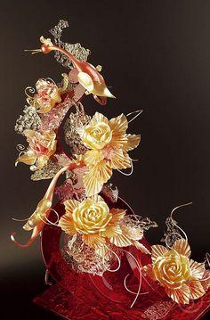 Sugar Showpiece by Chef Stephane Glacier