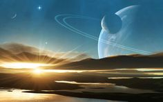 Real Pictures of Saturn From Space | Light On Saturn 3D Space 1920x1200 #5142 HD Wallpaper Res: 1920x1200 ...