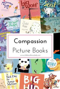 This compassion book list promotes compassion by modelling appropriate behaviour by helping people in need & being sensitive to the feelings of others. Reading Activities, Kids Reading, Baby Activities, Learning Games, Reading Lists, Toddler Books, Childrens Books, Baby Books, Teen Books