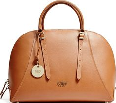 •Website: http://www.cuteandstylishbags.com/portfolio/guess-cognac-claudia-lady-luxe-leather-dome-satchel/ •Bag: Guess Cognac Claudia Lady Luxe Leather Dome Satchel