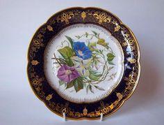 Antique 19th Century Sevres Porcelain Plate C1849