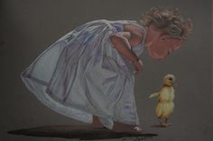 Kisses for Duckie by Ruth Tyson on ARTwanted