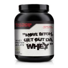 Black Madness Move Bitch 100% Whey är ett ultrafiltrerat vassleproteinisolat som…