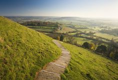 Do Ley Lines Magically Connect Sacred Places? Places Around The World, Around The Worlds, Ley Lines, Glastonbury Tor, Moving Water, Travel Route, Mystery Of History, Days Of The Year, Big Challenge