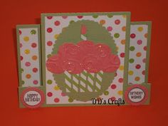 Cup Cake Birthday Card Free Printable Birthday Cards, Free Printables, Cupcake Birthday, Hello Everyone, Ideas Para, Card Ideas, Tutorials, Diy Crafts, How To Make