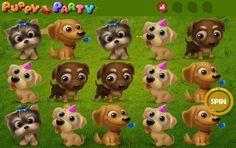Puppy Party - http://www.automaty-ruleta-zdarma.com/hraci-automat-puppy-party-online-zdarma/