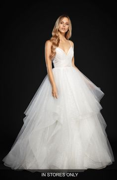 Hayley Paige Hayley Paige Chandon Stardust Tulle Ballgown (In Stores Only) available at #Nordstrom