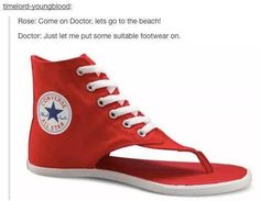 Doctor, I think that may be even worse than Crocs....