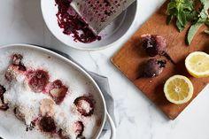 Salt-Crusted Beet Salad with Tehina and Herbs // Food52