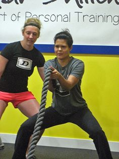 Want to add a little spice to your work out routine? Try incorporating ropes. Here are four battling rope exercises to help you get started. Rope Training, Strength Training, Fitness Diet, Fitness Motivation, Health Fitness, Rope Exercises, Hitt Workout, Battle Ropes, Weight Training Workouts