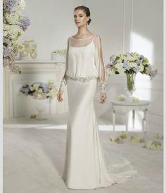 Vestido de noiva de Novia D´Art. #casamento #vestidodenoiva #noiva #gravida #NoviaDArt