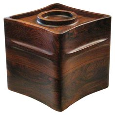 Jens Quistgaard for Dansk Palisander Rosewood Ice Bucket | From a unique collection of antique and modern barware at https://www.1stdibs.com/furniture/dining-entertaining/barware/