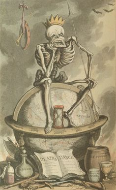 The English Dance of Death from the Designs by Thomas Rowlandson with Metrical Illustrations