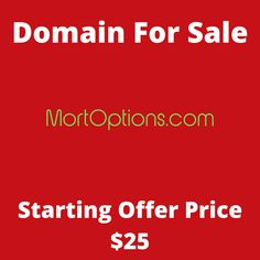 MortOptions.com domain name for sale! Visit it now to purchase it!  #mortoptions #mortgage #options #rent #domainforsale #domainname #domains #domainsale #domainnameforsale #website K Store, Budgeting, Names, Website, Live, Tent, Homemade Tea, Luxury Watches, Bonsai