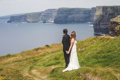Stunning Irish Cliffs of Moher and Hotel Doolin wedding by MrsRedhead Photography // www.onefabday.com