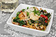 Skinny Shrimp Scampi Pasta