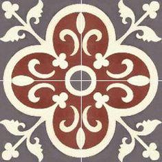 Moroccan Encaustic Tile 283004 http://www.berbertrading.com/pd-moroccan-encaustic-tile-2830043.cfm